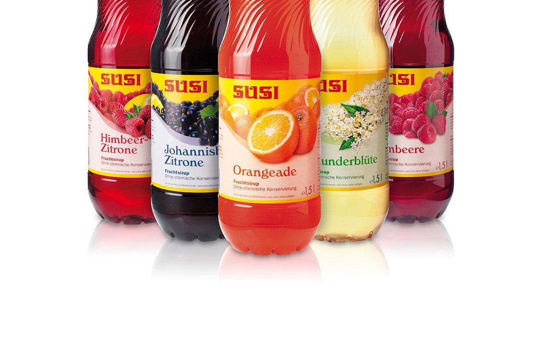 Etiketten Label Design · Susi Fruchtsirup