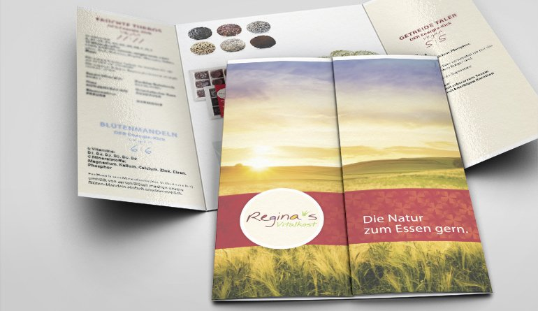 Folder und Etiketten-Design - RVK