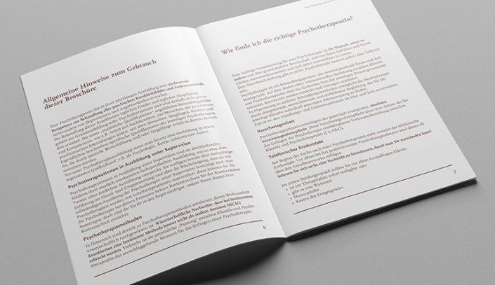 Broschüre · PsychotherapeutInnen Bezirk Baden