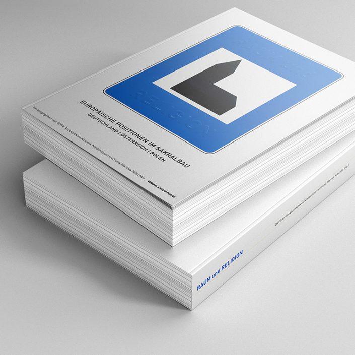 Editorial Design, Buch Layout - Raum und Religion