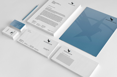 Briefpapier Visitkarten Drucksorten
