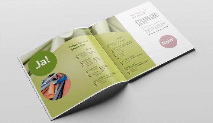 Broschüre Gestaltung