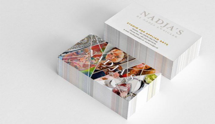 Visitenkarten und Flyer - Nadja S