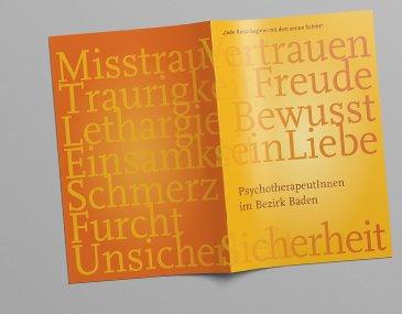 Broschüre - Grafik und Design
