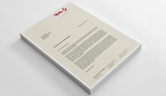 Briefpapier · Holla