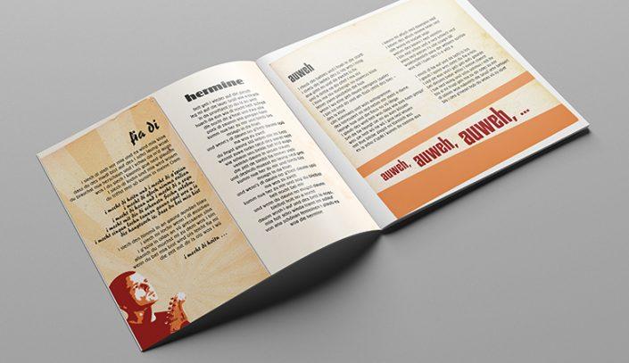 CD Booklet Gestaltung · Die Chiller