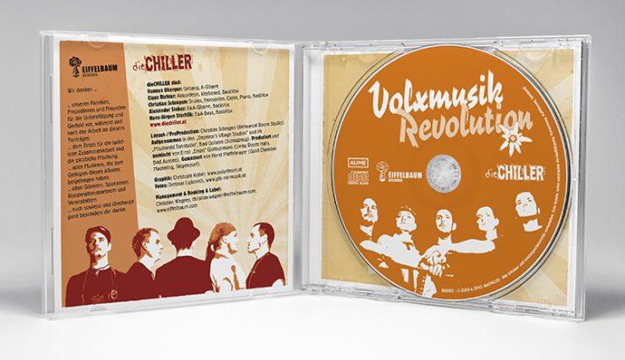 CD Cover Gestaltung · Die Chiller