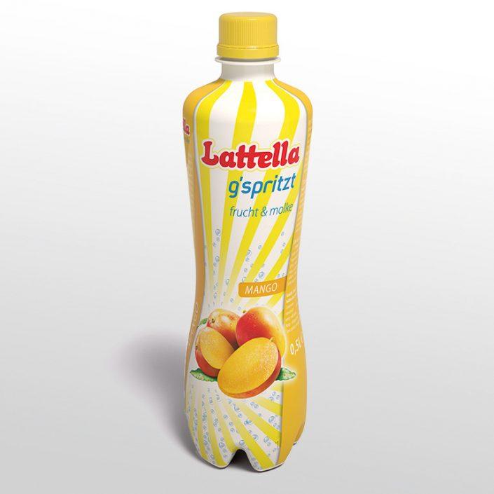 Flaschen Etikett Design · Latella