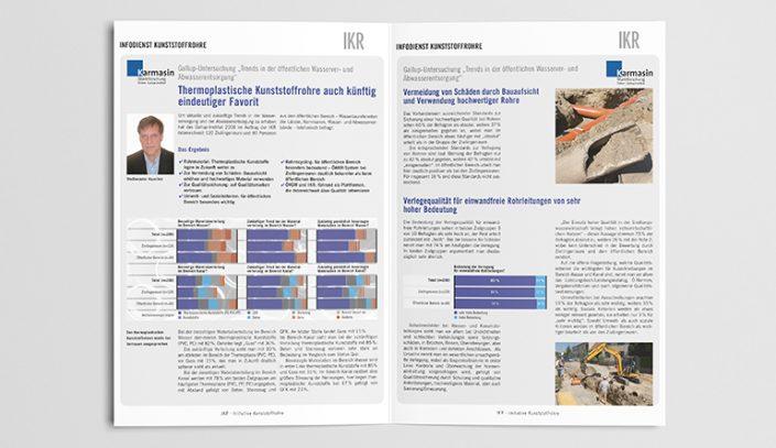 Infodienst Broschüre gestalten - IKR
