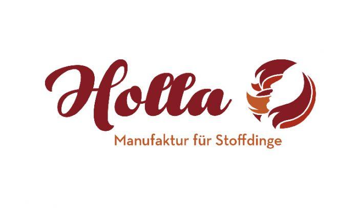 Logo Design erstellen · Holla