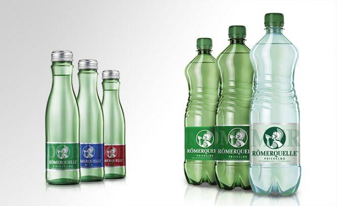 Etiketten Design - Römerquelle